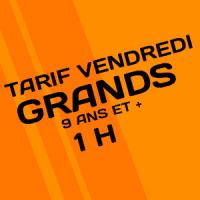Tarif Réduit Jump des Grds 1h
